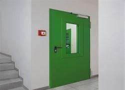 Особенности установки противопожарных дверей