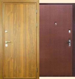 Металлические двери эконом-класса