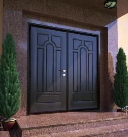 Преимущества установки входных металлических дверей