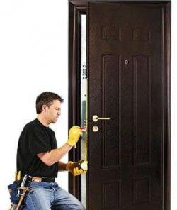 Какие виды ремонта возможны для металлических дверей