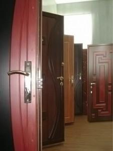 Защитное порошковое покрытие дверей