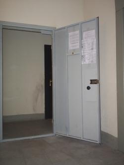 Дверь из металла на площадку