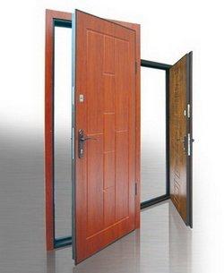 Виды фурнитуры для металлических дверей