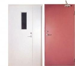 Выбор противопожарных дверей