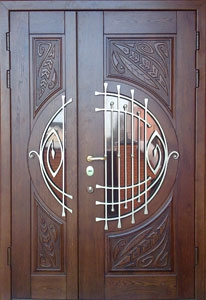 Двери металлические решетчатые