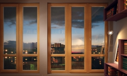 выбор окна для домов из дерева