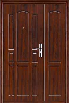 Противоударные стальные двери
