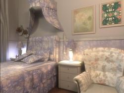 спальня оформленная в стиле прованс