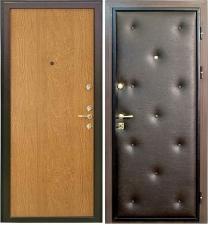 Из чего состоит конструкция металлической двери?