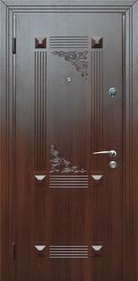 Металлические двери, их отделка