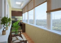 Теплое остекление лоджий и балконов