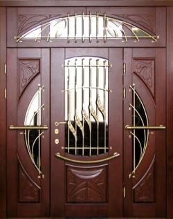 элитная входная дверь из металла
