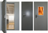 Выбор огнеупорной двери
