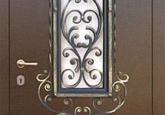 Из каких элементов состоит металлическая дверь