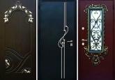 виды входных металлических дверей