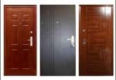 Конструкция металлических дверей