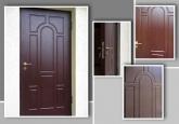 Металлические двери — надежность и красота.