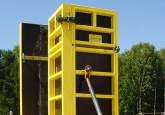 опалубка колонн при строительстве монолитных сооружений