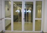 Стеклянные двери для защиты от пожара