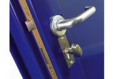 Металлические двери: окрашивание